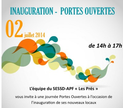 sessd,apf,lille,villeneuve d'ascq,actualité,inauguration,invitation